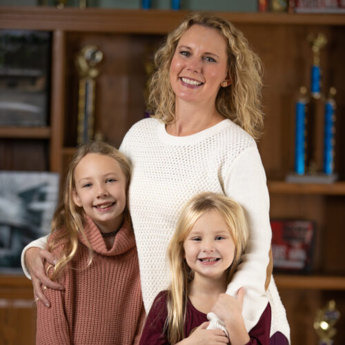 Cecelia Andrus, Lucy Andrus, Amy Gilmore Andrus
