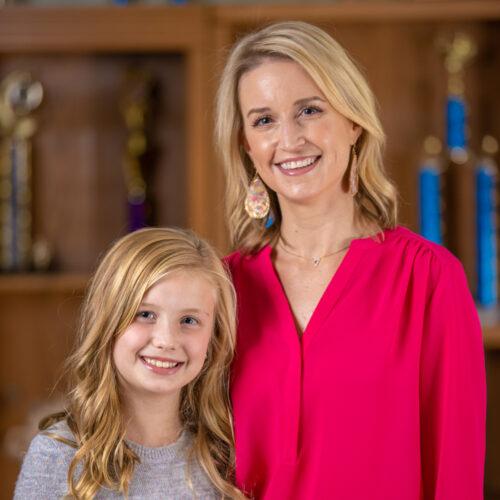 Lisa Fuller Frye and Hannah Kate Frye