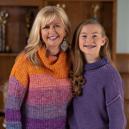 Kristen Welch and Haley Welch